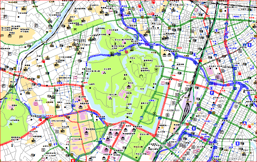 GISソリューションのご紹介 > マップデータ製品 > 街区地図 ...